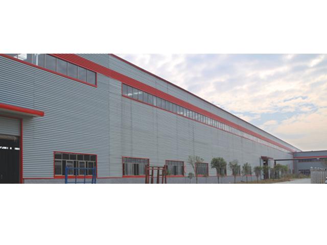 湖南巨强微晶板材料科技发展有限公司厂房原料库、成品库