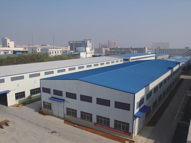 华鸿标准钢结构厂房